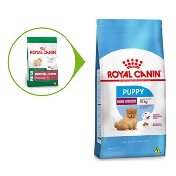 Ração Royal Canin Mini Indoor Junior para Cães Filhotes