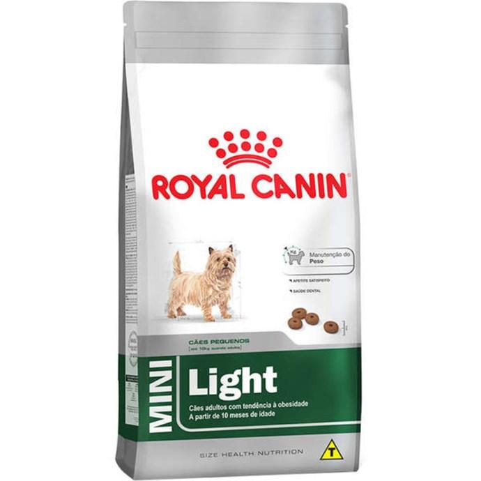 Ração Royal Canin Mini Light para Cães Adultos de Raças Pequenas com Tendência a Obesidade