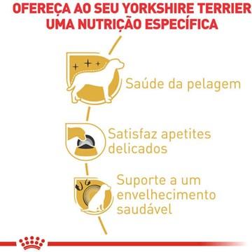 Ração Royal Canin para Cães Adultos da Raça Yorkshire