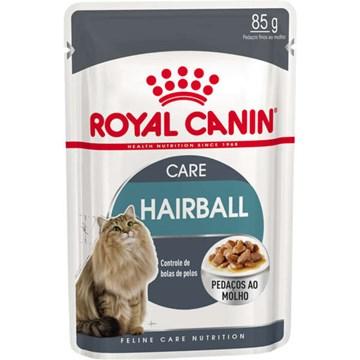 Ração Royal Canin Sachê Feline Hairball Care Eliminação de Pelos Ingeridos para Gatos