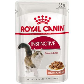Ração Royal Canin Sachê Feline Instinctive para Gatos com idade acima de 12 meses