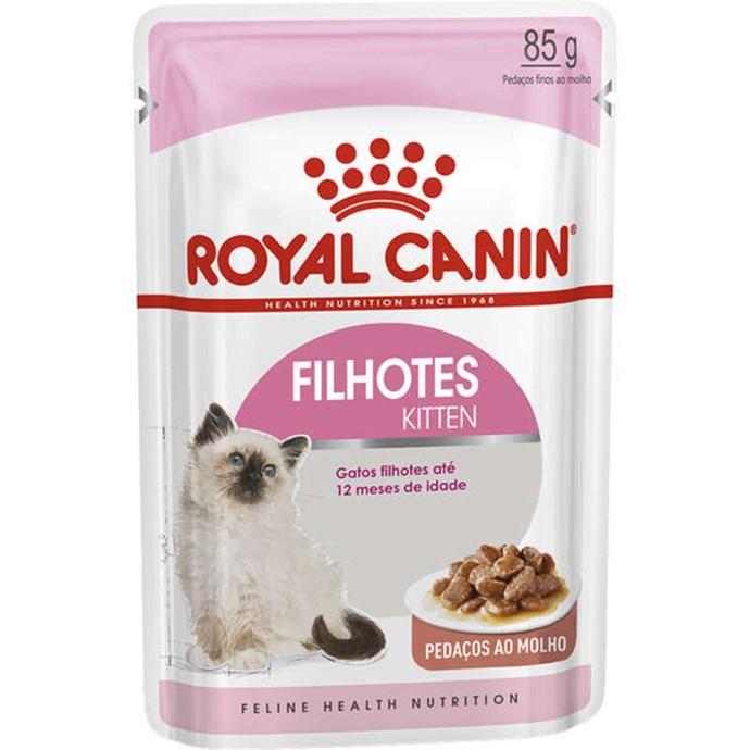 Ração Royal Canin Sachê Feline Kitten Instinctive para Gatos Filhotes com ate 12 meses