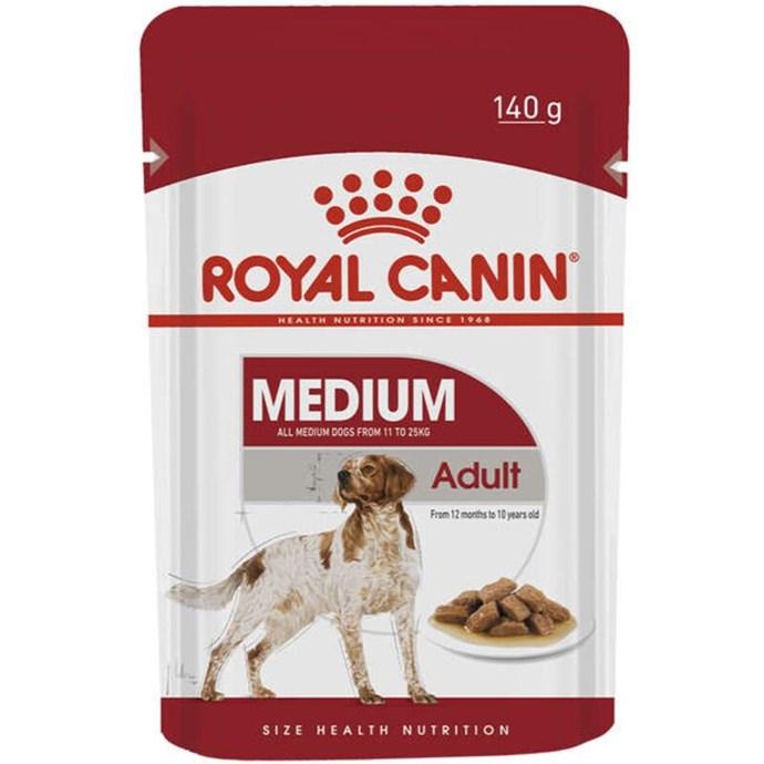 Ração Royal Canin Sachê Size Health Nutrition Puppy Wet para Cães Adultos Raças Médias