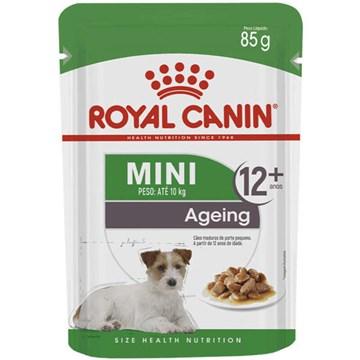 Ração Royal Canin Sachê Size Health Nutrition Puppy Wet para Cães Adultos Raças Pequenas a partir de 12 Anos de Idade