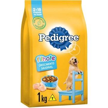 Ração Seca Pedigree para Cães Filhotes Raças Médias e Grandes 1 Kg