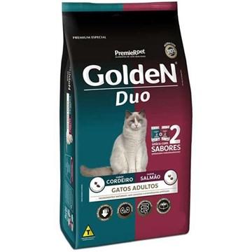 Ração Seca Premier Pet Golden DUO Gatos Adultos - Salmão e Cordeiro
