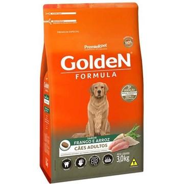 Ração Seca Premier Pet Golden Formula Cães Adultos Frango e Arroz