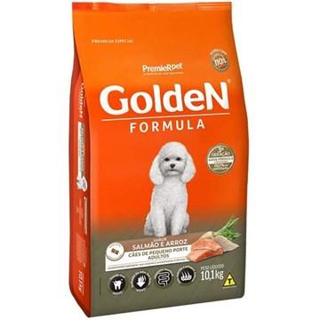 Ração Seca Premier Pet Golden Formula Mini Bits Salmão e Arroz para Cães Adultos de Raças Pequenas