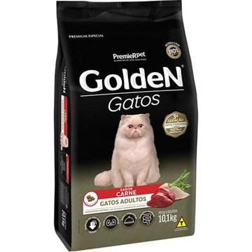 Ração Seca Premier Pet Golden Gatos Adultos Carne