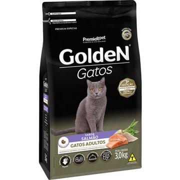 Ração Seca Premier Pet Golden Gatos Adultos Salmão