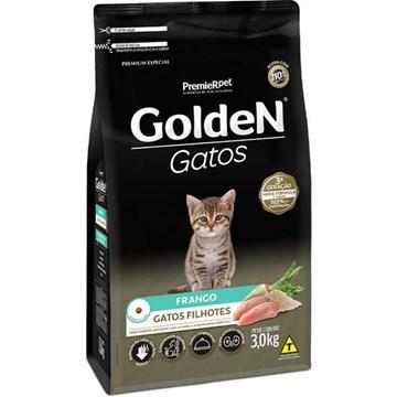 Ração Seca Premier Pet Golden Gatos Filhotes Frango
