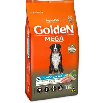 Ração Seca Premier Pet Golden Mega Cães Adultos Raças Grandes Frango e Arroz