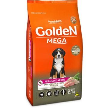 Ração Seca PremieR Pet Golden Mega Cães Filhotes Raças Grandes Frango e Arroz