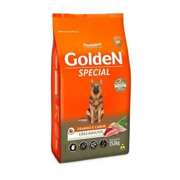 Ração Seca Premier Pet Golden Special Cães Adultos Frango e Carne