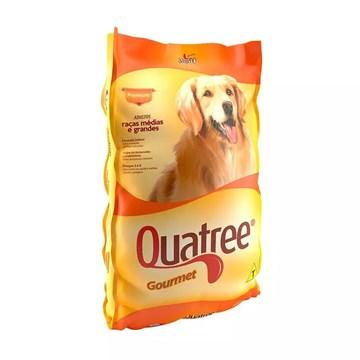 Ração Seca Quatree Gourmet Cães Adultos Raças Médias e Grandes