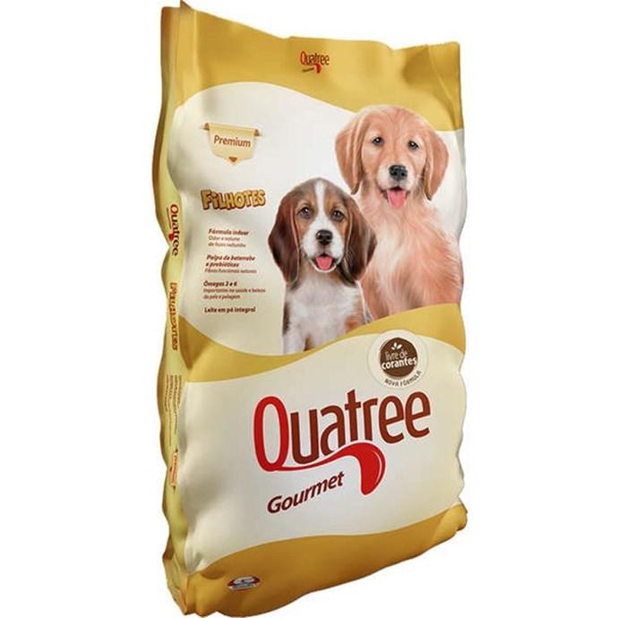 Ração Seca Quatree Gourmet Cães Filhotes