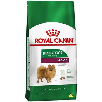 Ração Seca Royal Canin Mini Indoor Senior para Cães de Raças Pequenas com 8 Anos ou mais