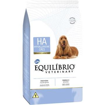 Ração Seca Total Equilíbrio Veterinary HA Problemas de Pele para Cães Adultos