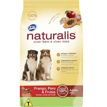 Ração Total Naturalis Frango, Peru e Frutas para Cães Adultos