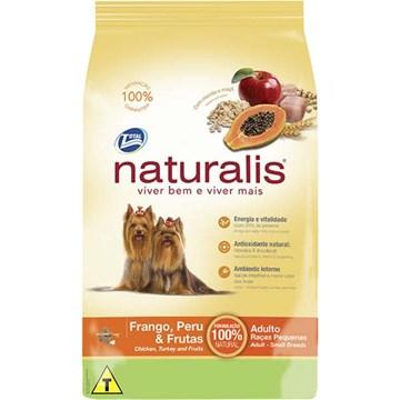 Ração Total Naturalis Frango, Peru e Frutas para Cães Adultos de Raças Pequenas