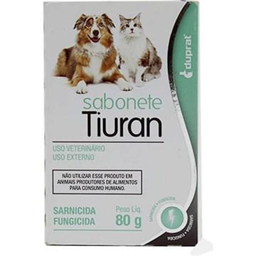 Sabonete Sarnicida Duprat Tiuran para Cães e Gatos