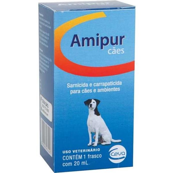 Sarnicida e Carrapaticida Ceva Amipur para Cães