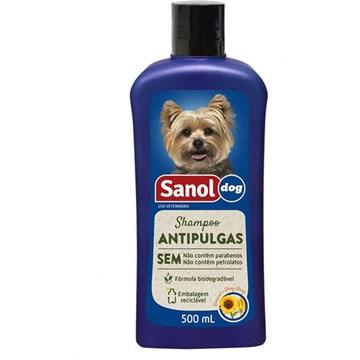 Shampoo Sanol Dog Antipulgas