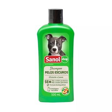 Shampoo Sanol Dog Pelos Escuros