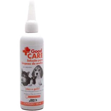 Solução para Limpeza de Orelha Good Care para Cães e Gatos
