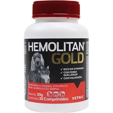 Suplemento Vetnil Hemolitan Gold
