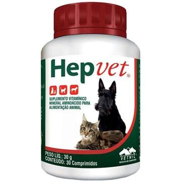 Suplemento Vetnil Hepvet Comprimidos