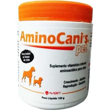 Suplemento Vitamínico Avert Amino Canis Pet