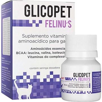 Suplemento Vitamínico Avert Glicopet Felinus para Gatos