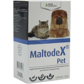Suplemento Vitamínico Duprat Nutrição MaltodeX Pet para Animais de Pequeno Porte 125 Ml