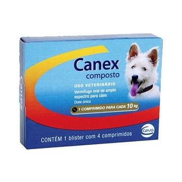 Vermifugo Ceva Canex Composto para Cães