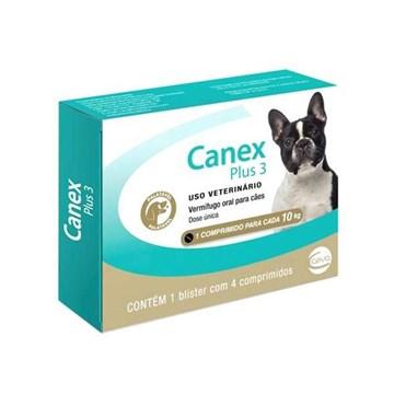Vermífugo Ceva Canex Plus 3 para Cães