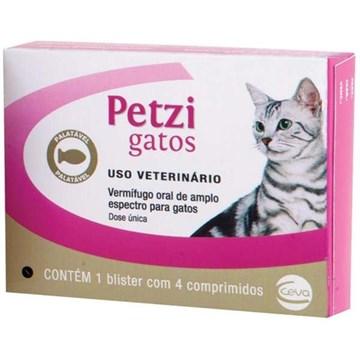 Vermifugo Ceva Petzi Gatos 600 mg