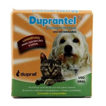 Vermífugo Duprat Duprantel Comprimidos para Cães e Gatos