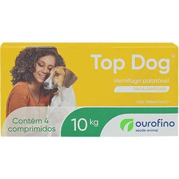 Vermifugo Ourofino Top Dog para Cães de até 10 Kg